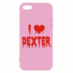 Чехол для iPhone5/5S/SE I love Dexter