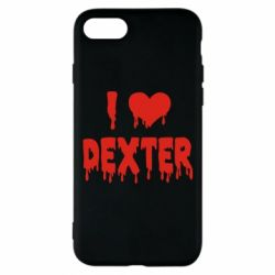 Чехол для iPhone 8 I love Dexter
