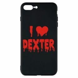 Чехол для iPhone 8 Plus I love Dexter