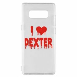 Чехол для Samsung Note 8 I love Dexter