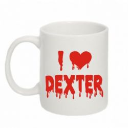 Кружка 320ml I love Dexter - FatLine