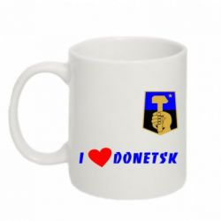 Кружка 320ml I love Donetsk - FatLine