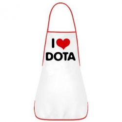Фартук I love Dota - FatLine
