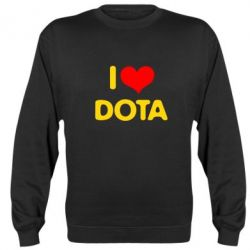 Реглан I love Dota - FatLine