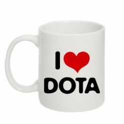 Кружка 320ml I love Dota - FatLine