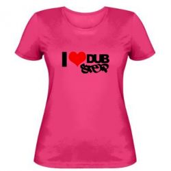 Женская I love Dub Step