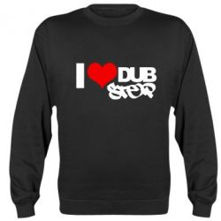 Реглан (свитшот) I love Dub Step