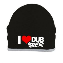 Шапка I love Dub Step