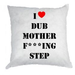 Подушка I love DubStep