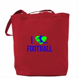 Сумка I love football - FatLine