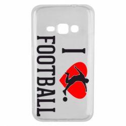 Чохол для Samsung J1 2016 I love football