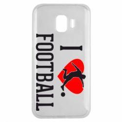 Чохол для Samsung J2 2018 I love football