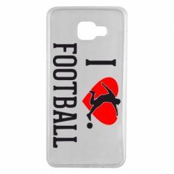 Чохол для Samsung A7 2016 I love football