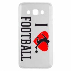 Чохол для Samsung J5 2016 I love football