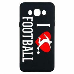 Чохол для Samsung J7 2016 I love football
