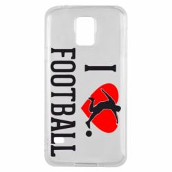 Чохол для Samsung S5 I love football