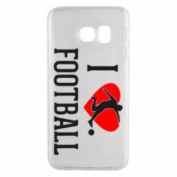 Чохол для Samsung S6 EDGE I love football