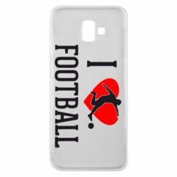 Чохол для Samsung J6 Plus 2018 I love football