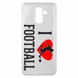 Чохол для Samsung J8 2018 I love football