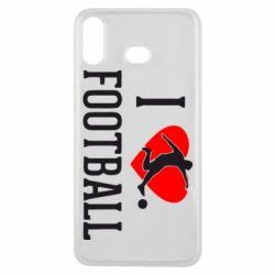 Чохол для Samsung A6s I love football