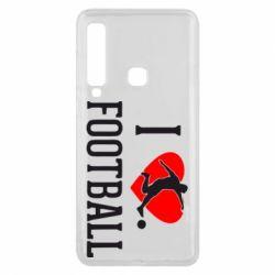 Чохол для Samsung A9 2018 I love football