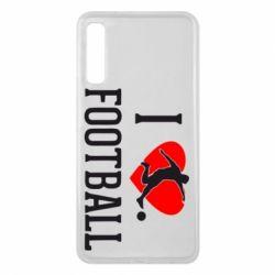 Чохол для Samsung A7 2018 I love football