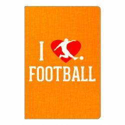 Блокнот А5 I love football