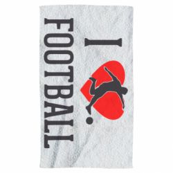 Рушник I love football