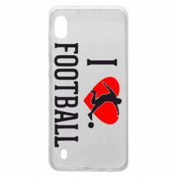 Чохол для Samsung A10 I love football