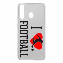 Чохол для Samsung A60 I love football