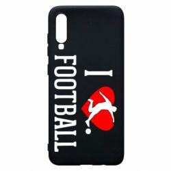 Чохол для Samsung A70 I love football
