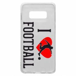 Чохол для Samsung S10e I love football