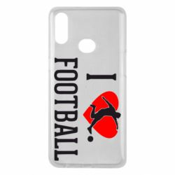 Чохол для Samsung A10s I love football