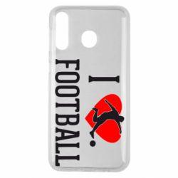 Чохол для Samsung M30 I love football