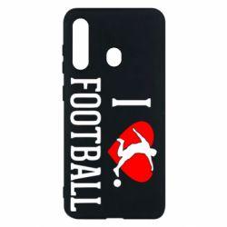 Чохол для Samsung M40 I love football