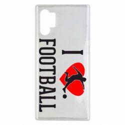 Чохол для Samsung Note 10 Plus I love football