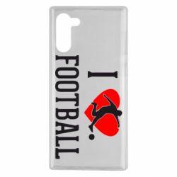 Чохол для Samsung Note 10 I love football