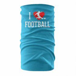 Бандана-труба I love football