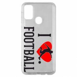 Чохол для Samsung M30s I love football