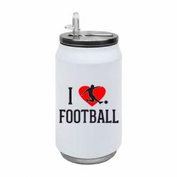 Термобанка 350ml I love football