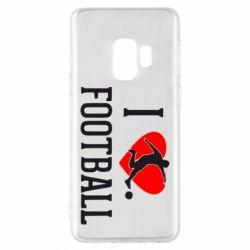 Чохол для Samsung S9 I love football