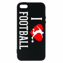 Чохол для iphone 5/5S/SE I love football