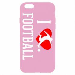 Чохол для iPhone 6 Plus/6S Plus I love football