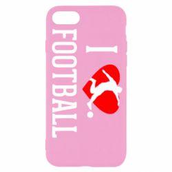 Чохол для iPhone 7 I love football