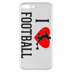 Чохол для iPhone 7 Plus I love football