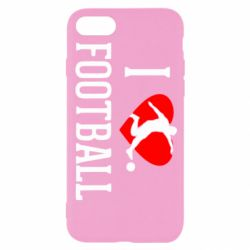 Чохол для iPhone 8 I love football