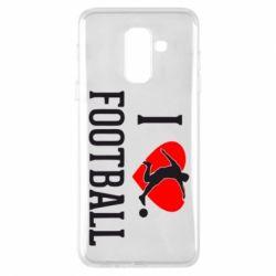 Чохол для Samsung A6+ 2018 I love football