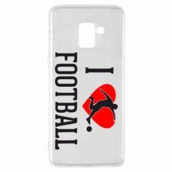 Чохол для Samsung A8+ 2018 I love football