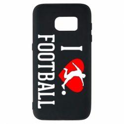 Чохол для Samsung S7 I love football