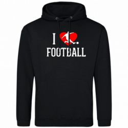 Толстовка I love football - FatLine